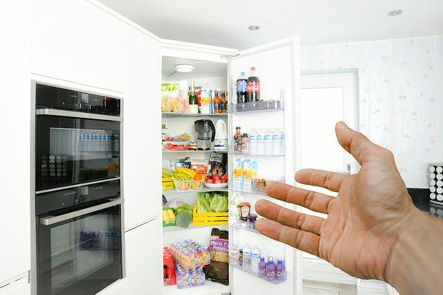 ruka u lednice